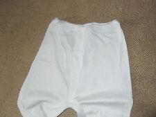 men's white thermal long Johns - size S
