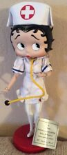 Collectible Betty Boop Nurse Porcelain Doll - New