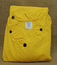 Vallen Stormguard I PVC Nylon Raincoat Size XL  46-48   Snap Closure