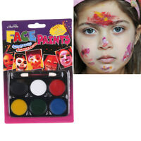 Kid Face Paint Multi-Colors Kit for Kids Healthy Face Painting Cosplay toy №[