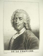 comédie larmoyante Pierre-Claude Nivelle de La Chaussée Devéria Couché c1880