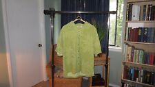 Tommy Bahama, Yellow Floral Design, 100% Silk (Men's XL)- MINT CONDITION