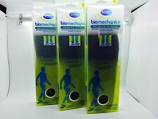 Scholl Biomechanics Heel & Knee Pain Reliever Insoles size Large x3 boxes