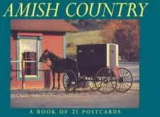 Amish Country Postcard Book-ExLibrary
