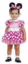 Minnie Mouse Pink Infant Girls Disney Costume Headband Fancy Dress Disguise
