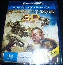 Clash Of The Titans (Australia Region B) 3D Blu-Ray + Bluray – New