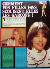 SOPHIE MARCEAU et SHEILA => COUPURE DE PRESSE 1 page 1982 / CLIPPING
