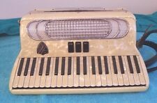 Petosa Roma Americanna  120 Bass Accordion 2/4 reeds Accordian Italy  G. cond
