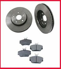 1996-1999 FORD SHO Front Brake Rotors & Ceramic Pads