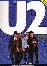 The Best Of U2 Music Book Guitar TAB