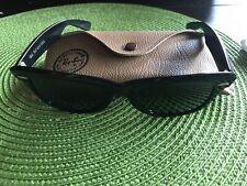 Vintage Bausch & Lomb Ray Ban Wayfarer Sunglasses Black Bl