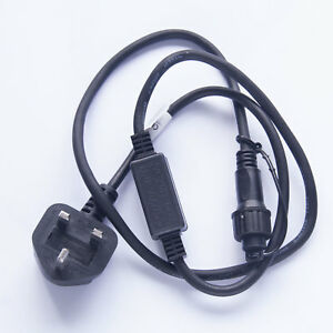 Connectable Christmas Lights - Professional Mains Power Cable for Qbis Lights