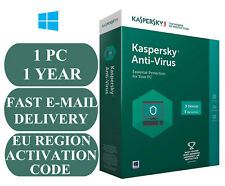 Kaspersky Virenschutz 1 PC 1 Jahr Activation Code EU & UK 2021 E-Mail nur