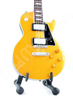 Miniature Guitar JOE BONAMASSA with free stand GOLD TOP