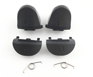 L2 R2 L1 R1 Replacement Buttons Triggers Springs Set for PS4 Pro Slim Controller