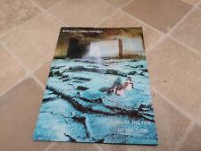 BARCLAY JAMES HARVEST Turn Of The Tide TOUR PROGRAMME UK 1981 Tour