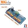 Module I2C PCA9685 16 canaux PWM Servo Driver 12Bit expander | extension Arduino