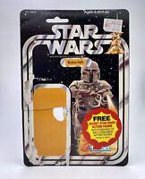 Vintage Star Wars Boba Fett 21-Back Cardback 1979 Kenner
