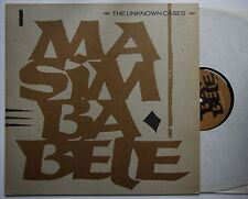 The Unknown Cases Masimba Bele Ger 1983 12inch