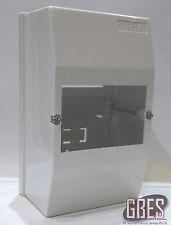 Clipsal 4CC4 Surface Mount Switchboard Enclosure 4 Module Plastic White IP20