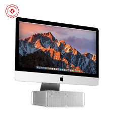 Twelve South HiRise for iMac & Displays | Height-adjustable stand with storage