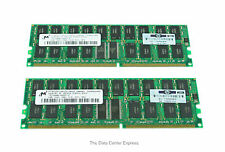 HP 2GB(2X1024MB) 200MHz PC1600 ECC DDR SDRAM DIMM Memory Kit 187420-B21 New Bulk