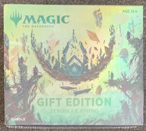Magic The Gathering Gift Edition Zendikar Rising Bundle New Sealed