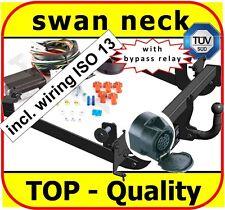 Towbar & Electric ISO 13pin Fiat Scudo 2 / II Van 2007-2016 / swan neck Tow Bar