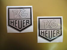 TAG HEUER classic sticker/decal x2