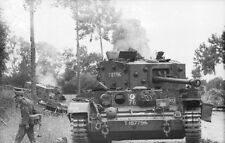WW2 Photo Captured British Tank France 44 WWII Germany  World War Two