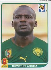 N°401 THIMOTHEE ATOUBA # CAMEROON STICKER PANINI WORLD CUP SOUTH AFRICA 2010