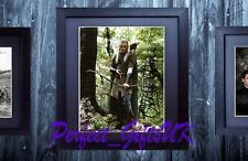 ORLANDO BLOOM LEGOLAS LOTR FRAMED & MOUNTED SIGNED 10x8 REPRO PHOTO PRINT
