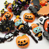 Ramdom 20pcs Mix Lots Resin Flatback Flat Back Halloween Craft Embellishment