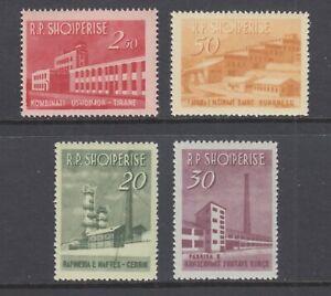 Albania Sc 697-700 MLH. 1953 Industrial Development