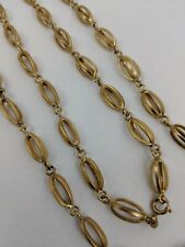 18K YELLOW GOLD LONG NECKLACE