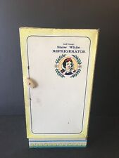 VTG Wolverine Tin Toy Snow White Refrigerator Walt Disney Productions