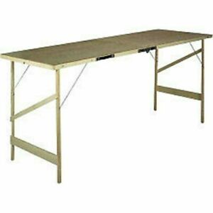 Hardboard Paste Pasting Wallpaper Table Portable Decorating Cutting Carboot Fold