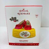 Hallmark Keepsake Christmas Ornament Wizard of Oz Ruby Slippers