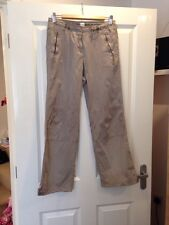 New Look Beige Trousers Size 10 - <E1717