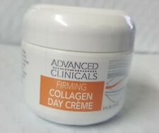 ADVANCED CLINICALS FIRMING COLLAGEN DAY CREME 2oz NEW & SEALED