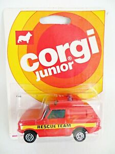 CORGI JUNIORS 42 'RANGE ROVER RESCUE TEAM (POLICE)'. MIB/BOXED/CARDED/BLISTER.
