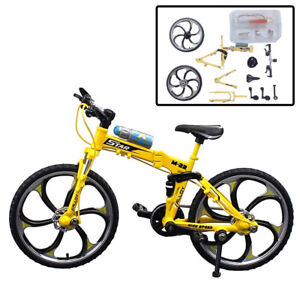 DIY Mountain Bike Toys Cake Topper Building Toys Finger Assemble Bike Model Toy