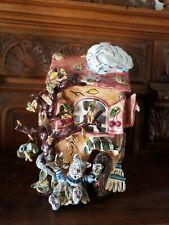 Blue Sky Clayworks Cherry Tree Inn Autumn House by Heather Goldminc Retired