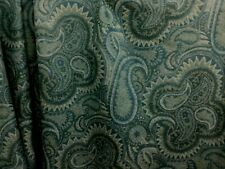 Abraham Moon 100% Lambswool Upholstery Fabric - Bayswater teal