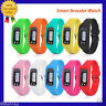 Digital LCD Run Step Pedometer Calorie Walking Distance Counter Watch Bracelet