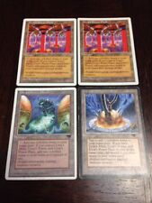 MTG Magic the Gathering EX/P Antiquities Urza's Power Plant x4