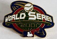2001 WORLD SERIES MLB Lapel Pin Tac PSG - New York Yankees  Arizona Diamondbacks