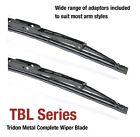 Volkswagen Bora 01/98-06/02 21/19in - Tridon Frame Wiper Blades (Pair)
