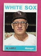 1964 TOPPS # 232 WHITE SOX AL LOPEZ  MANAGER VG CARD (INV# A8549)