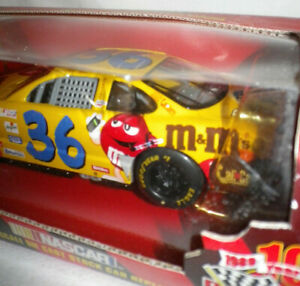 NASCAR Racing Champions 10th Annivesary 1999 1:24 Scale M&M's 36 Car Ernie Irvan